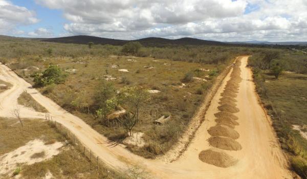 Imagens da Inicia os serviços de terraplanagem na estrada do Bebedouro