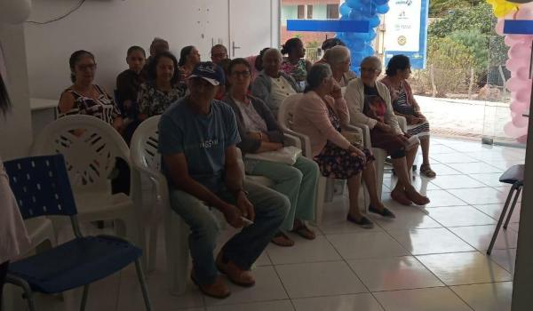 Imagens da USF do Velame comemora um ano de atendimento