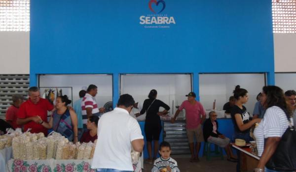 Imagens da Inauguração dos Boxes no Mercadão