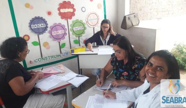 A Secretaria Municipal de Saúde na luta pela atualização das cadernetas de vacinação nas Escolas