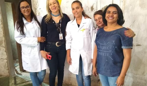 Ações do Julho Amarelo na Comunidade de Vão de Palmeiras