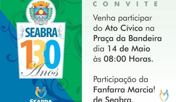 Aniversário de 130 Anos de Seabra