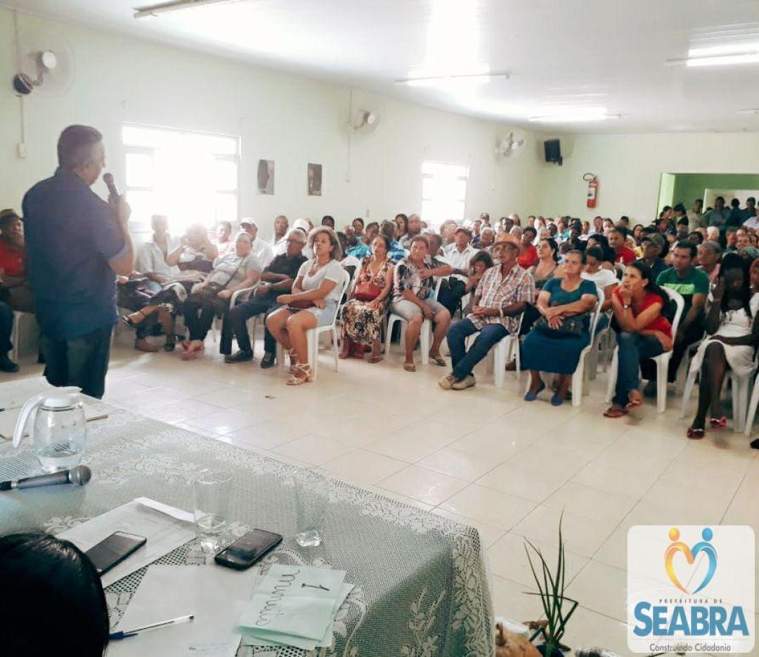 Assembléia Geral do Sindicato dos Trabalhadores Rurais de Seabra