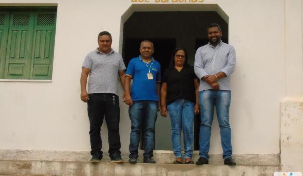 Inauguração do Posto dos Correios em Baraúnas