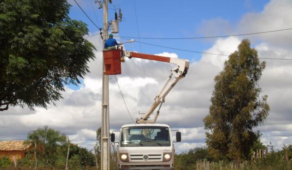 Manutenção da Iluminação Pública nas comunidades rurais