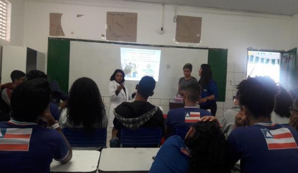 Palestra do Programa de Saúde nas Escolas