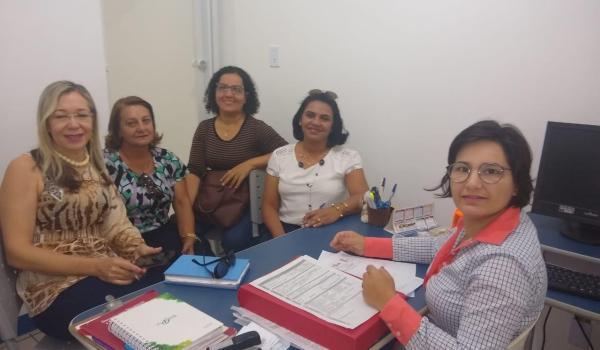 Profissionais do SAE- Seabra visitam o SAE de Itaberaba