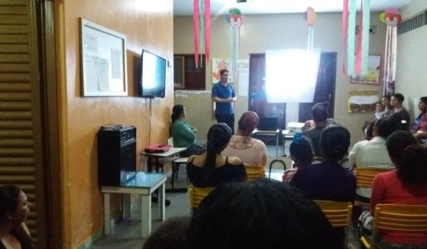 Reunião sobre construção da sede própria da Escola Kimimo II