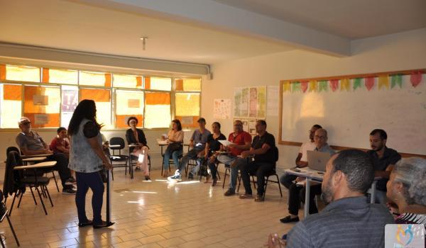 Reunião sobre Educação Patrimonial