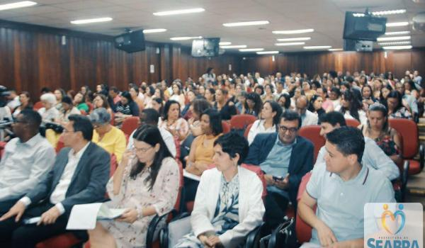 Seabra participa do Lançamento do Programa de Formação Continuada